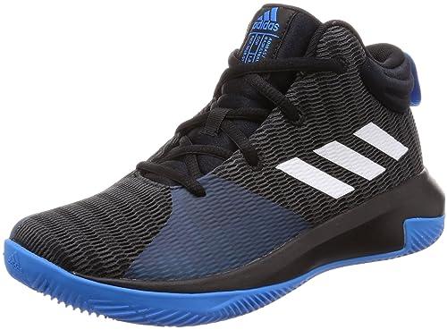 adidas Pro Elevate 2018, Zapatos de Baloncesto Unisex Niños, Negro Cblack/Ftwwht/Brblue, 30 EU: Amazon.es: Zapatos y complementos