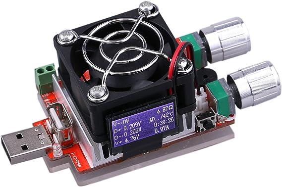 UCTRONICS Electronic USB Load Tester Adjustable Discharge Resistor Module 35W...