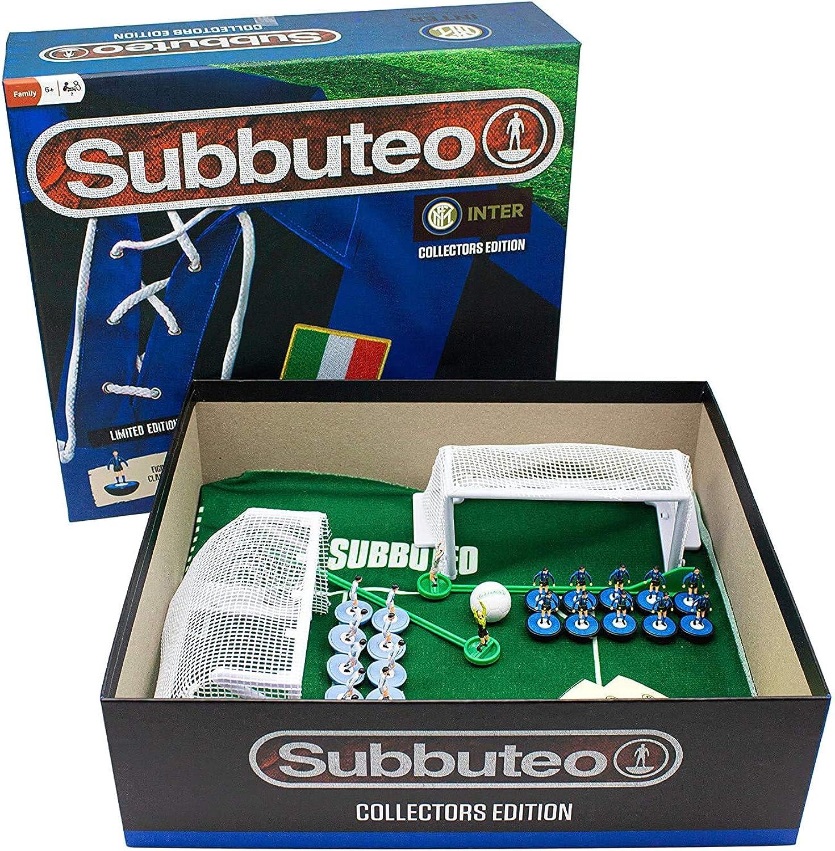 Inter FC, Subbuteo Playset Collectors Retro Edition: Amazon.es ...