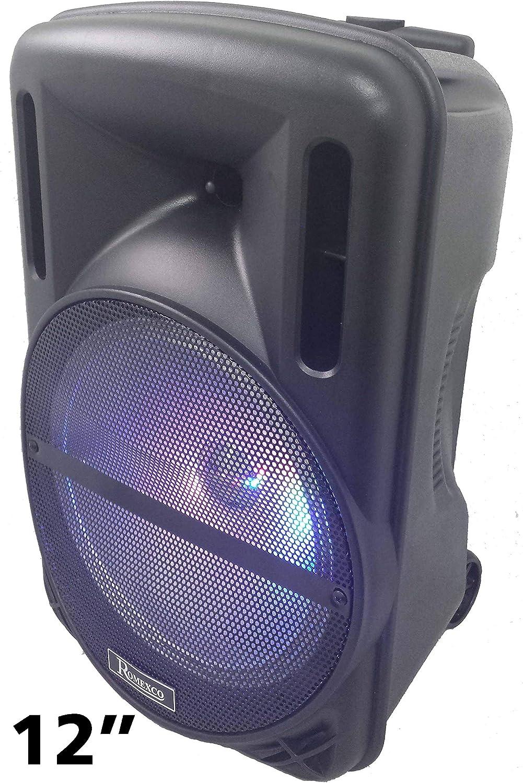 Altavoz portatil trolley karaoke bluetooth radio usb tarjeta 80W