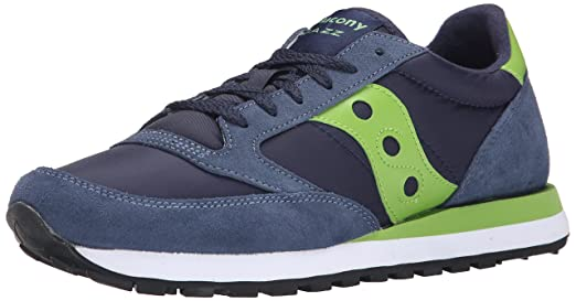18 opinioni per Sneaker Saucony Jazz in suede blu navy washed