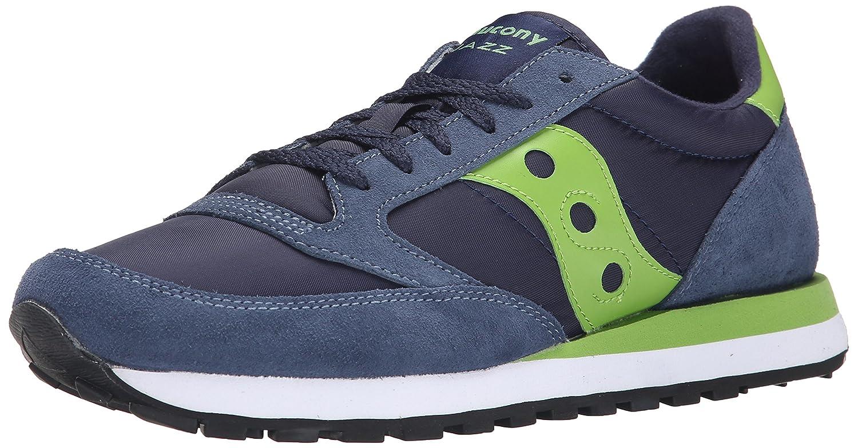 Saucony Herren Jazz O Laufschuhe  Blau/Grün  9.5 EU Multicolore Navy Green 336