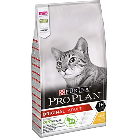 Amazon.com : Purina Pro Plan Adult Cat Food Optirenal Rich ...