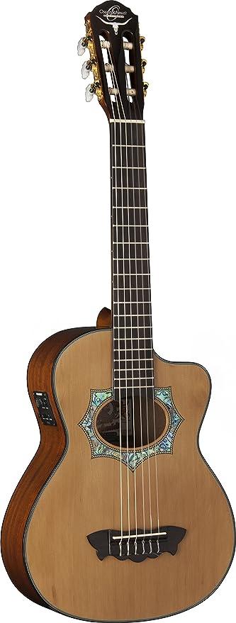 Oscar Schmidt oh30sce-o-u acústica guitarra eléctrica Requinto ...