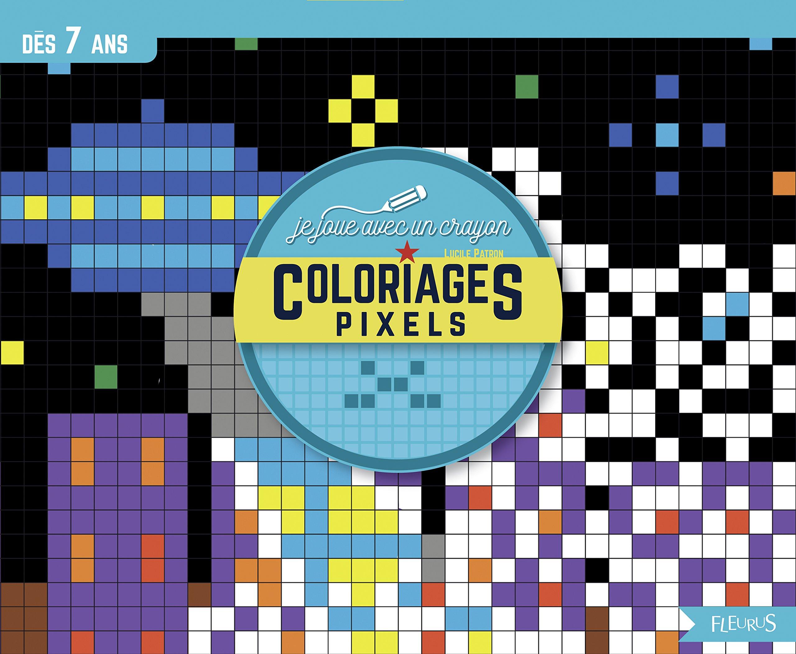 Coloriages Pixels Amazon Fr Lucile Patron Livres