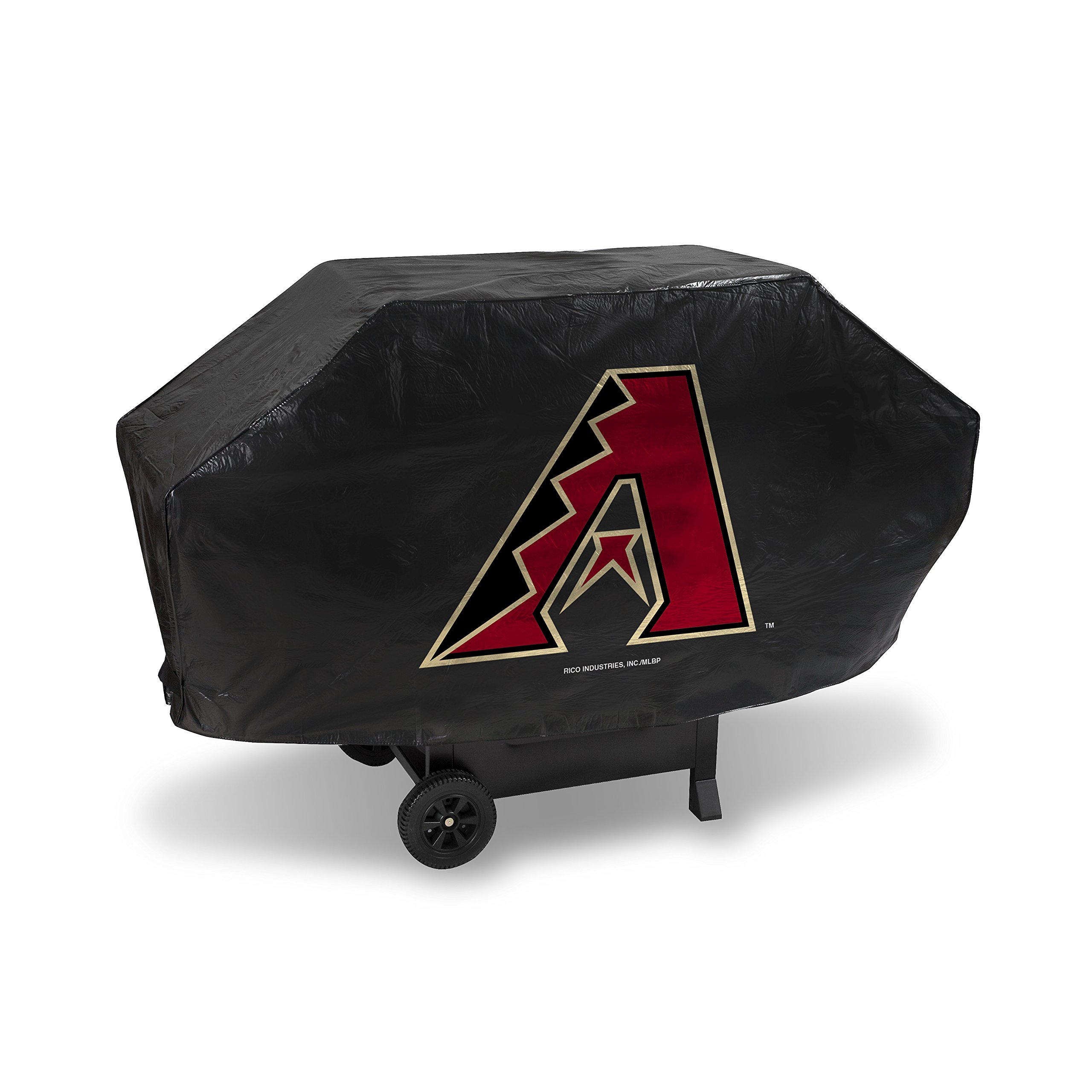 Rico Industries MLB Arizona Diamondbacks Deluxe Grill Cover, Black, 68 x 21 x 35
