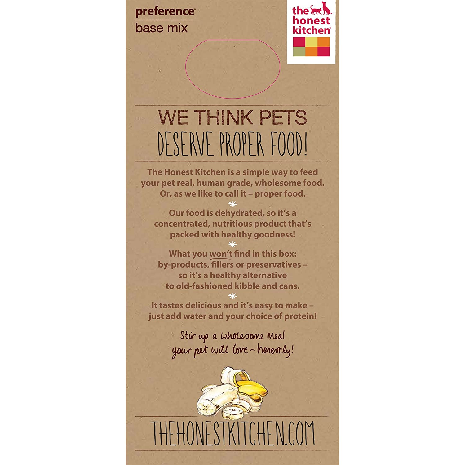 the honest kitchen preference dehydrated grain free base mix dog