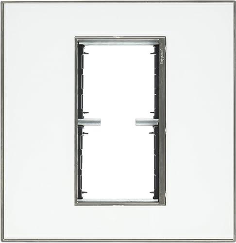 PASS SEYMOUR AWM2GMW4 2g White Mirror Wall Plate