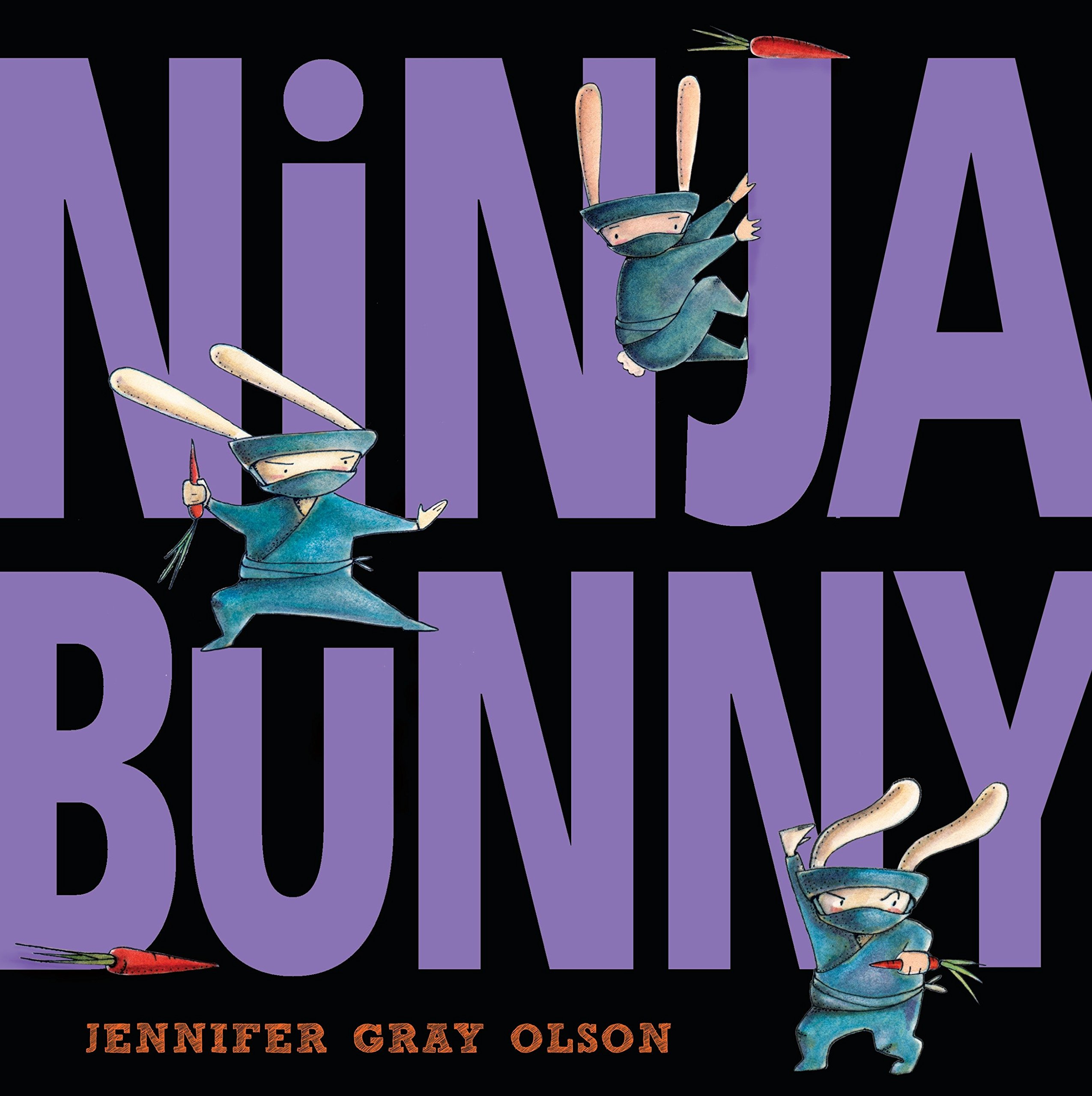Ninja Bunny: Jennifer Gray Olson: 9780385754934: Amazon.com ...