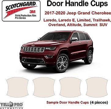 3M Scotchgard Paint Protection Film Pro Series 2017 2018 Jeep Grand Cherokee