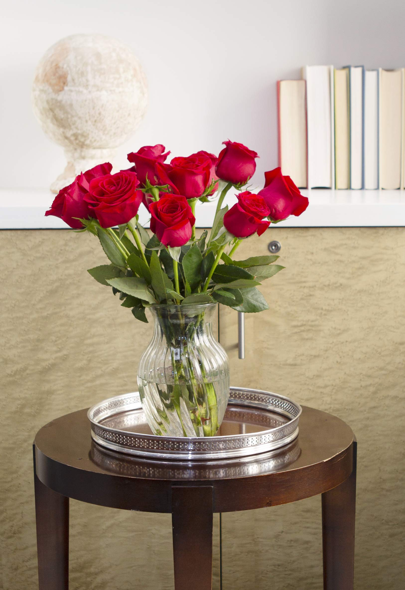 KaBloom The Romantic Classic Bouquet of 12 Fresh Red Roses (Farm-Fresh, Long-Stem) by KaBloom (Image #6)