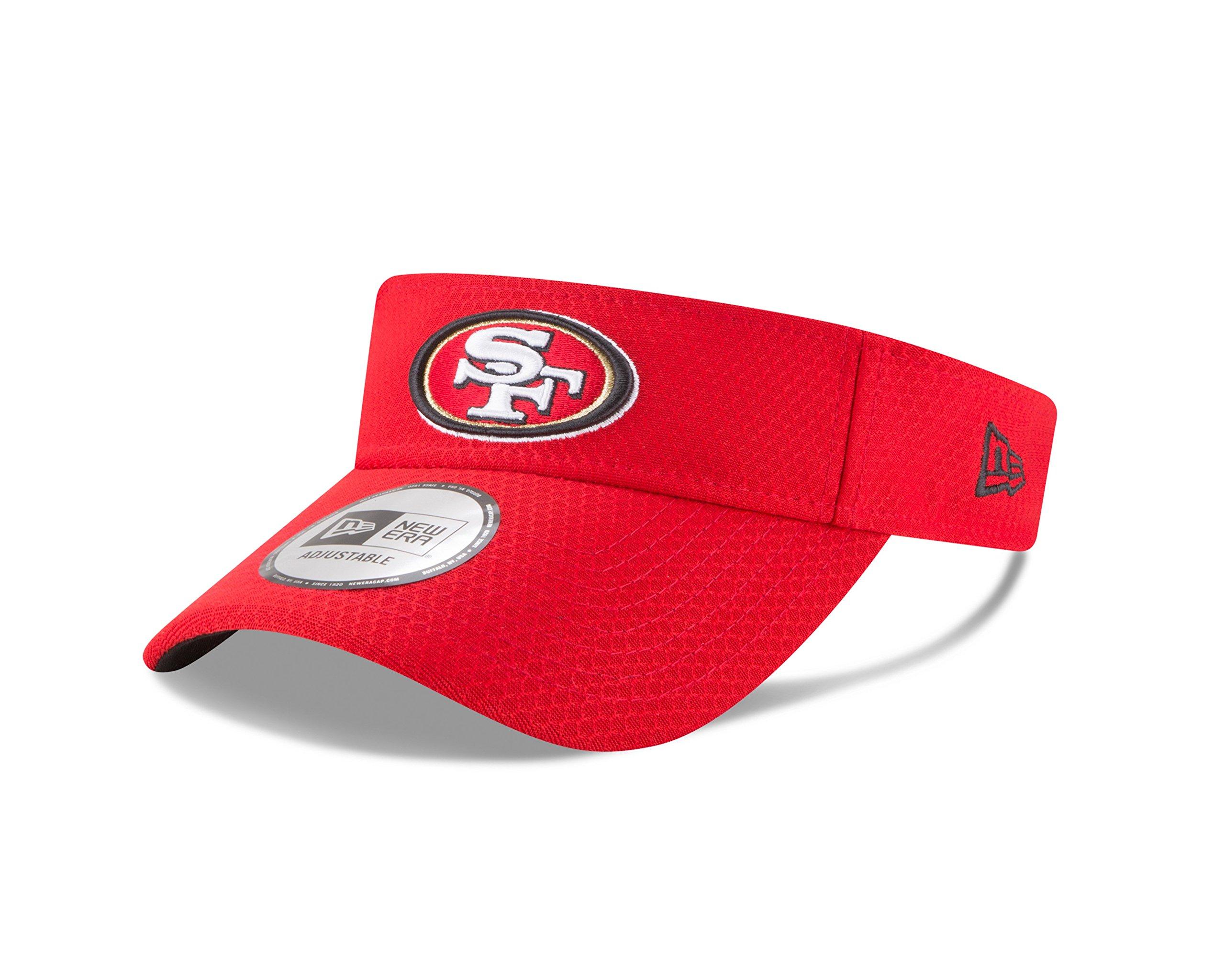 San Francisco 49ers New Era 2018 Training Camp Primary Visor - Scarlet by New Era