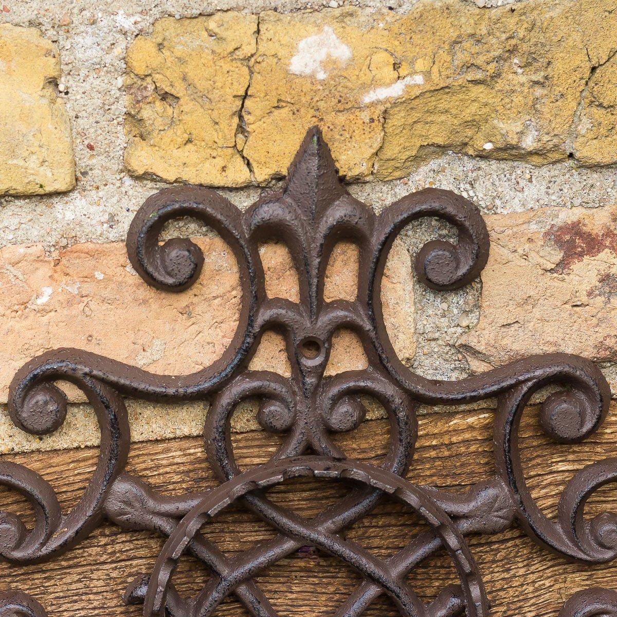 soporte de pared para macetas dise/ño antiguo Antikas soportes de hierro macetas