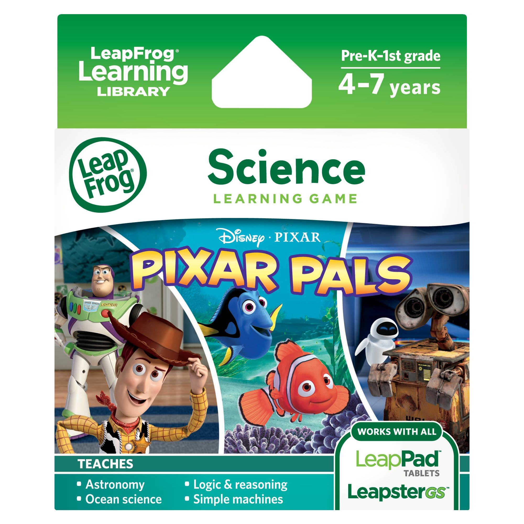 LeapFrog Pixar Pals Learning Game (for LeapPad Platinum, LeapPad Ultra, LeapPad1, LeapPad2, LeapPad3, Leapster Explorer, LeapsterGS Explorer) by LeapFrog (Image #1)
