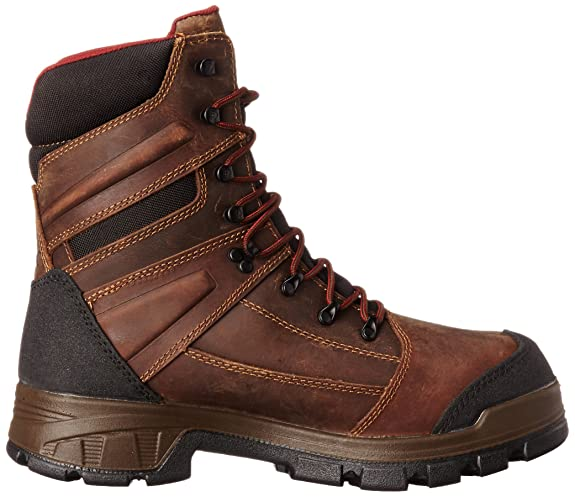 68e0f1be394 Wolverine Men's Renton LX 8 Inch Comp Toe EPX WPF INS Work Boot