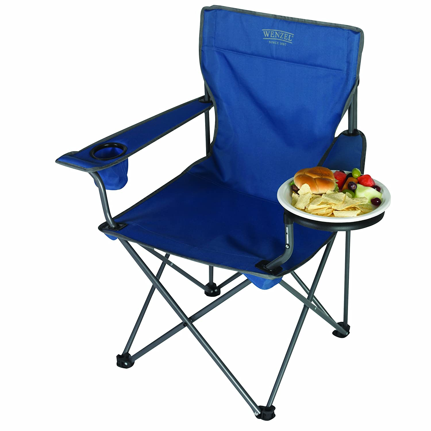 amazon com wenzel banquet chair camping chairs sports u0026 outdoors