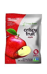Crispy Green Fruit Snacks, Crispy Apples, 2.2 Ounce Pouch
