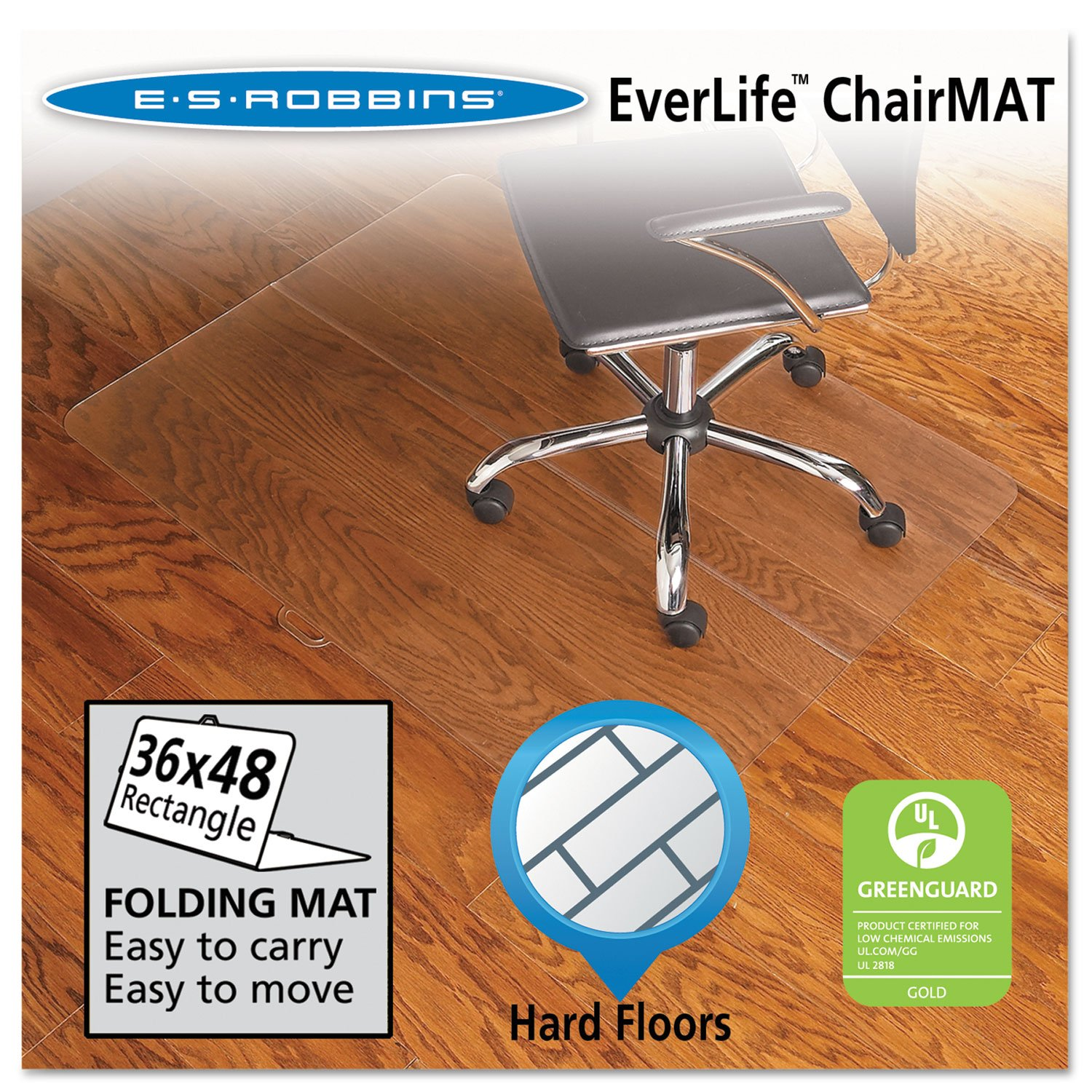 amazon com es robbins everlife foldable chair mats kitchen dining