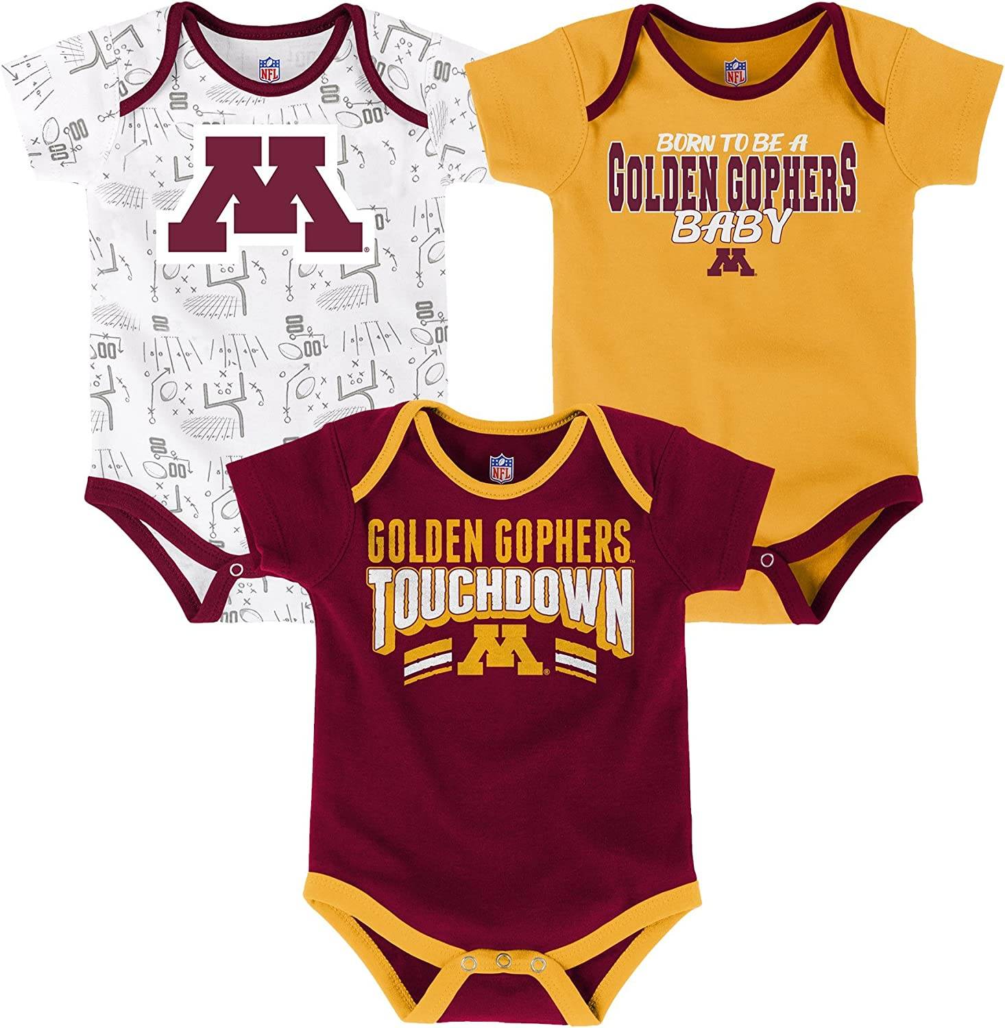 NCAA by Outerstuff NCAA Baby-Boys Power One Onesie and Pant Set