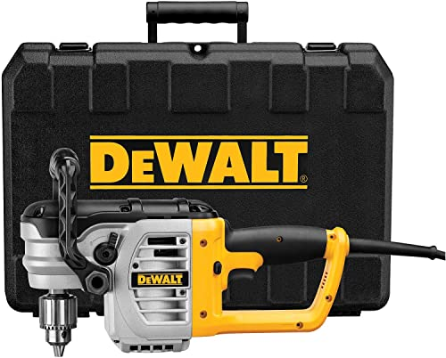 DEWALT Electric Drill, Right Angle Stud and Joist, Bind-Up Control, 1 2-Inch, 11-Amp DWD460K