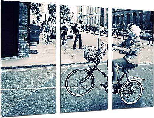 Cuadro Fotográfico Hispster original Anciana Bicicleta Vintage ...