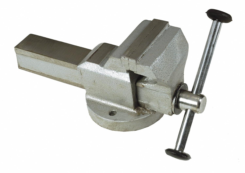 Maurer 89148 Schraubstock Fest, Stahl, 150 mm, grau