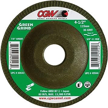 Norton Gemini Depressed Center Abrasive Wheel Pack of 2 Aluminum Oxide 7//8 Arbor Gobain Abrasives 66252835581 Type 27 7//8 Arbor 7 Diameter x 5//32 Thickness Pack of 2 St 7 Diameter x 5//32 Thickness