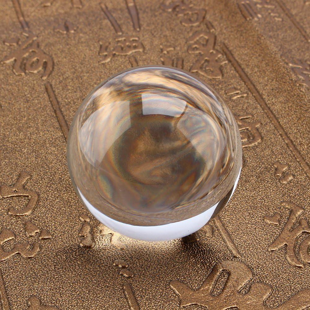 Decorazione Domestica Spettacolo E Regalo Festa Decorazione in Cristallo Art Prop per Decorazione Fotografica FD2LB1NVL K9 Sfera di Cristallo con Piedistallo