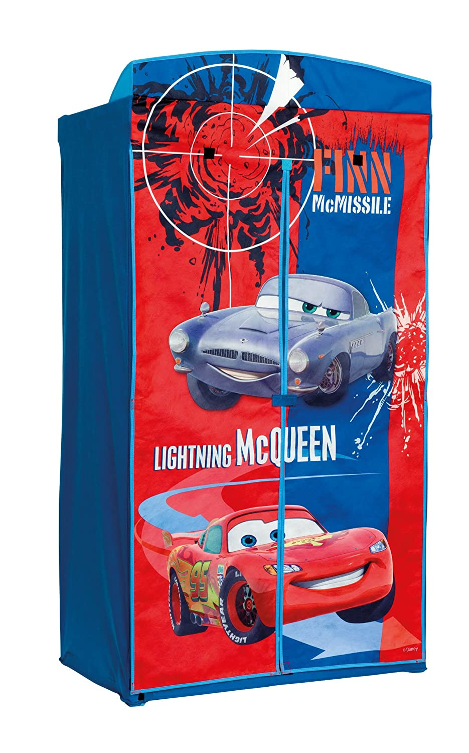 Disney Cars Fabric Wardrobe: Amazon.co.uk: Kitchen & Home