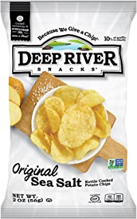 product image for Deep River Snacks Kettle Chips, Original Salted, 2-Ounce Bags (Pack of 24)