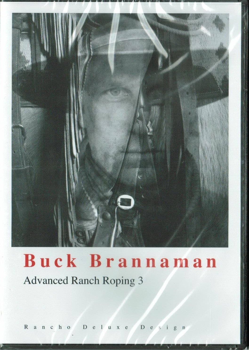 Buck Brannaman RANCH ROPING ROPE Horse riding training 3 DVDs set