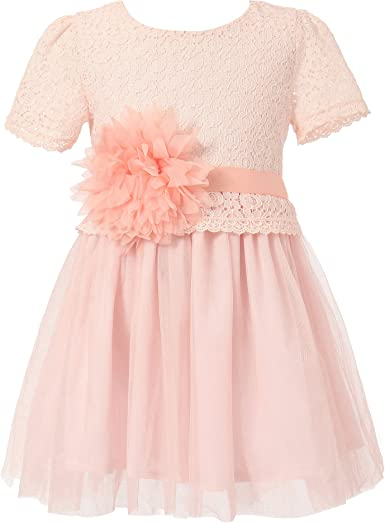 GIRLS PASTEL YELLOW BOW TRIM LACE TULLE BALLERINA PRINCESS PARTY DRESS age 3-4