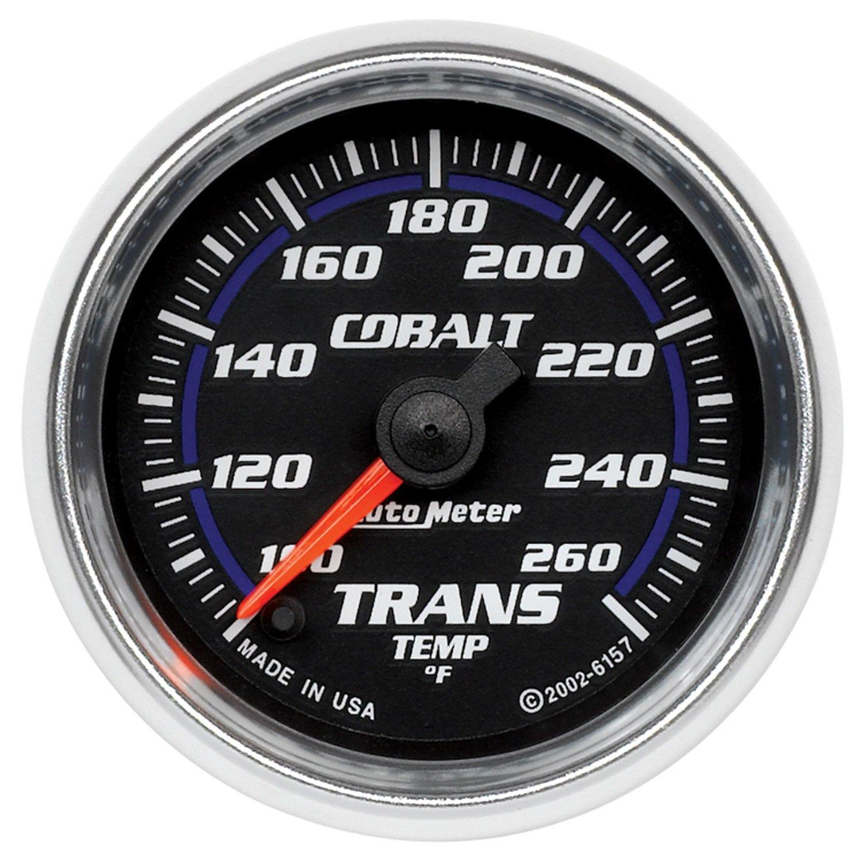 Auto Meter 6157 Cobalt Electric Transmission Temperature Gauge