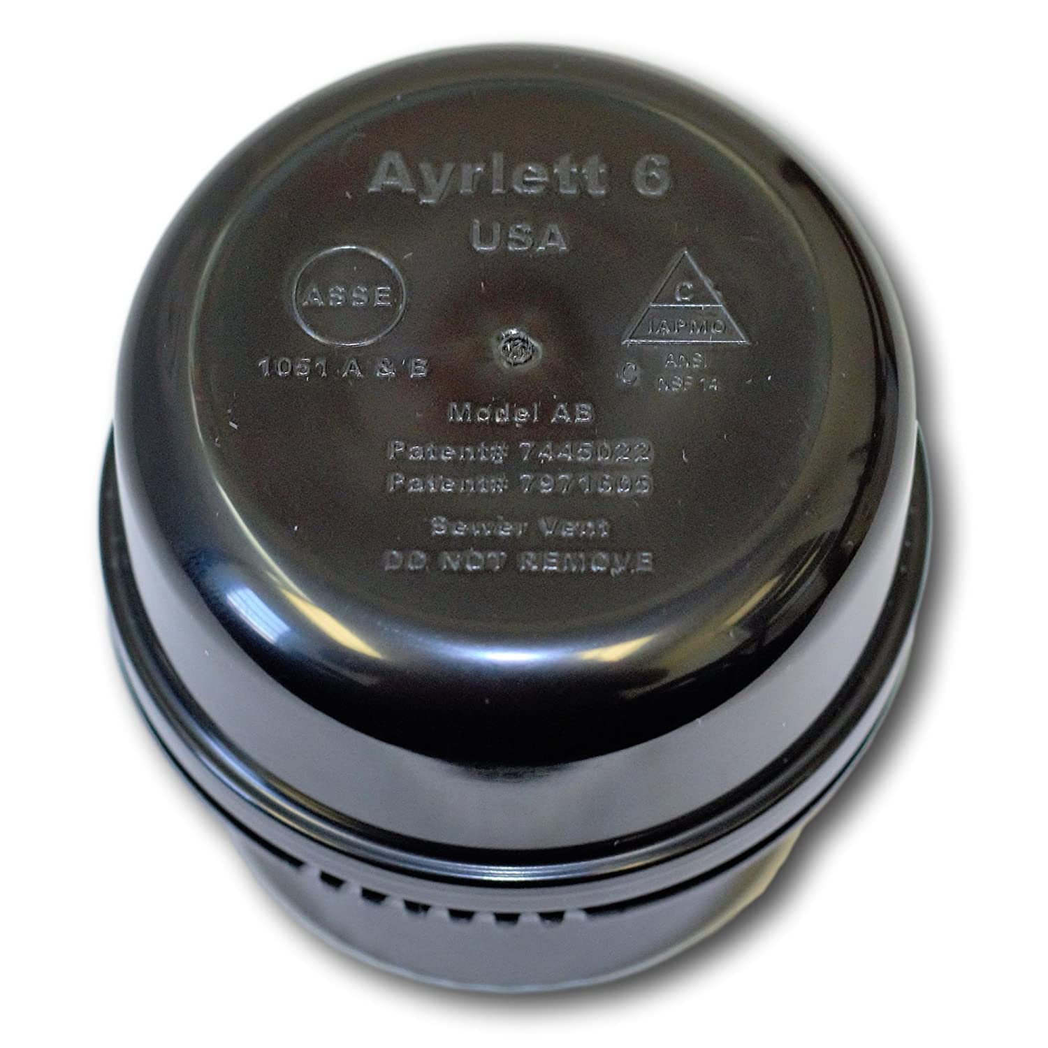 RV Vent Replacement Part Ayrlett ABS 1.25 Nut Replacement AAV for MHRV 1.25 in - ABS
