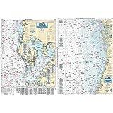 Tampa Bay to Crystal River, FL - Laminated Nautical Navigation & Fishing Chart by Captain Segull's Nautical Sportfishing Char