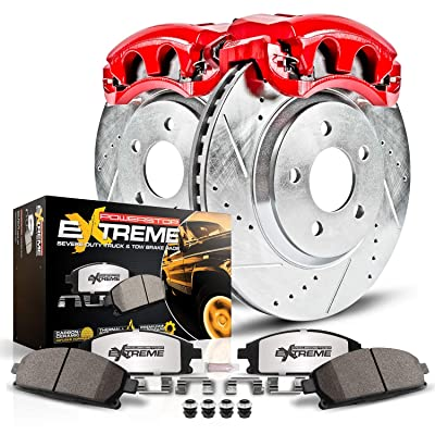 Power Stop KC2961-36 Front Z36 Truck and Tow Brake Kit with Calipers: Automotive