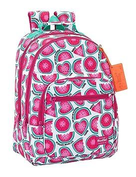 "Safta Mochila Blackfit8 ""Watermelon"" Oficial Mochila Escolar, 320x160x420mm"