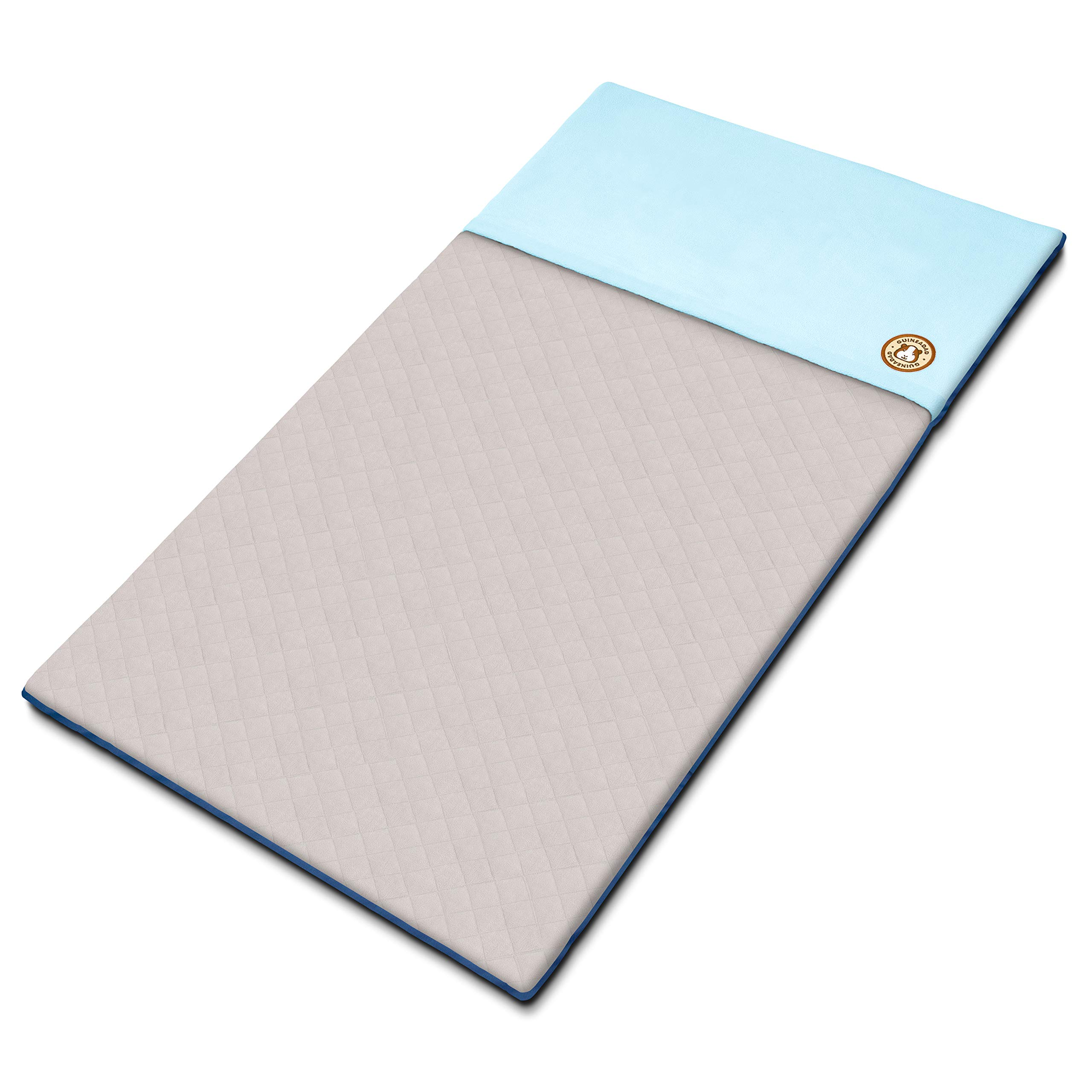 GuineaDad Fleece Liner | Guinea Pig Fleece Cage Liners | Guinea Pig Bedding | Burrowing Pocket Sleeve | Absorbent Antibacterial Bamboo | Waterproof | Available Various Cage Sizes by GuineaDad