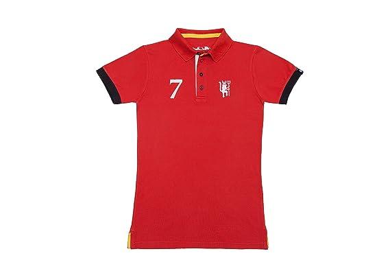 Coolligan - Polo de Fútbol Retro 1878 Red Devils - Color - Rojo ...