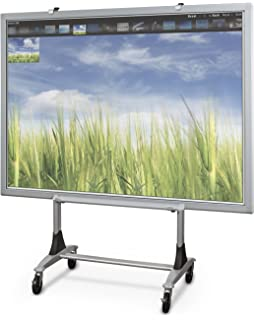 balt genius mobile dry erase whiteboard stand interactive projector whiteboard stand - Electronic Whiteboard