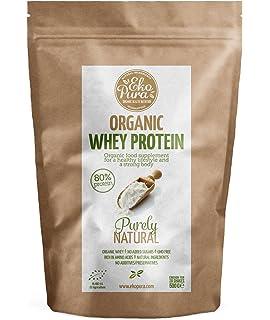 Organic Whey Protein - Purely Natural - 80% Proteína - Proteína de suero Orgánico -