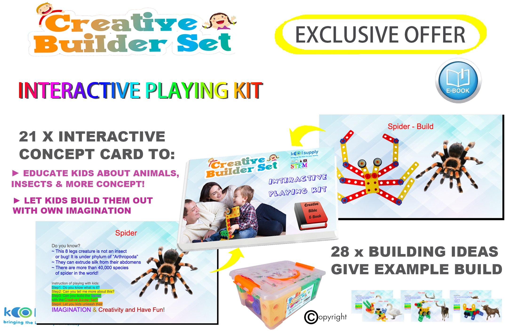 Creative Builder Set Original 92 Pieces STEM Building Blocks