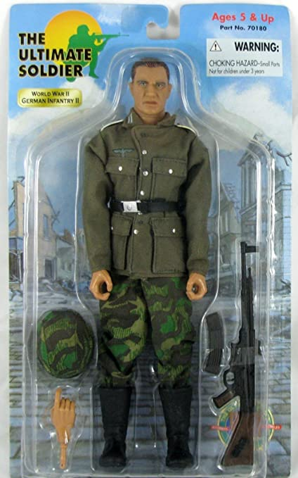 Amazon Com 1 6 Scale Wwii World War 2 Eto German Wehrmacht Infantry