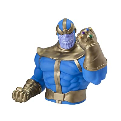 Marvel Thanos PVC Bust Bank: Toys & Games