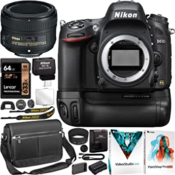 Nikon D610 Full Frame DSLR Camera FX Digital SLR Body AF-S NIKKOR ...