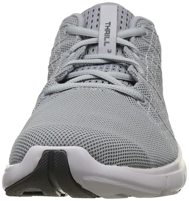 UA Thrill 3 Overcast Grey Running Shoes
