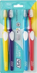 TePe Supreme – Set de 4 cepillos de dientes – Cepillo de dientes ...