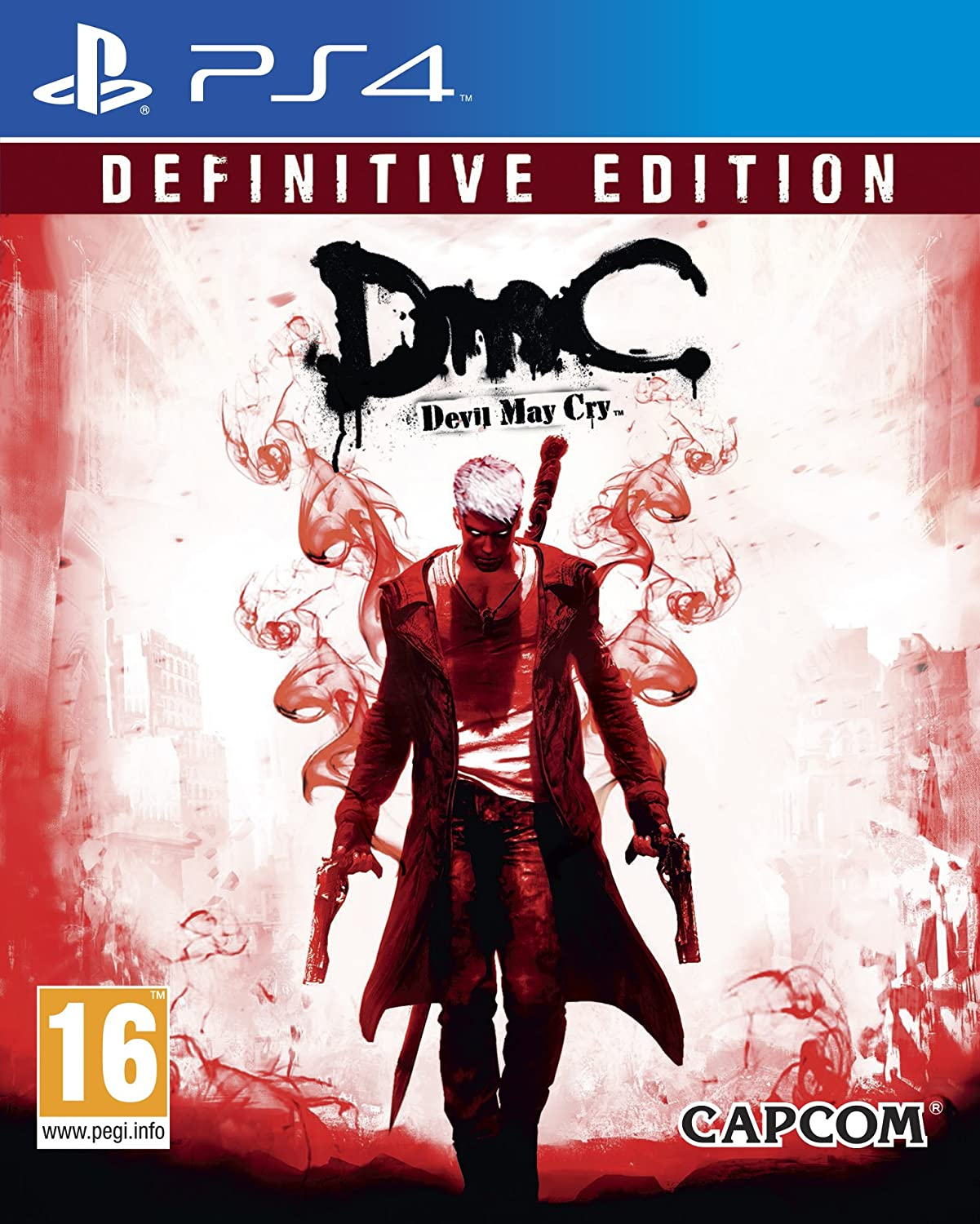 Kết quả hình ảnh cho DmC Devil May Cry Definitive Edition cover ps4
