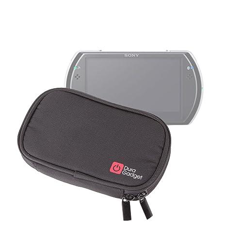 DURAGADGET Estuche Negro De Espuma De Memoria para Sony PSP Go / E1000 - Mayor Protección