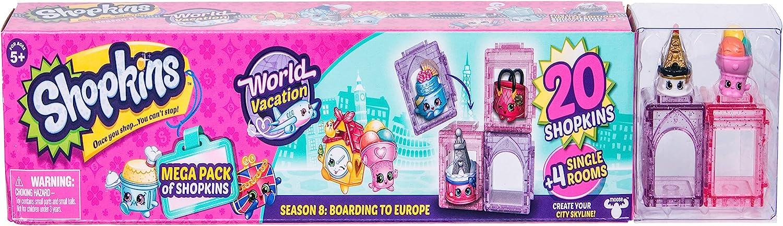 Shopkins World Vacation (Europe) -Mega Pack